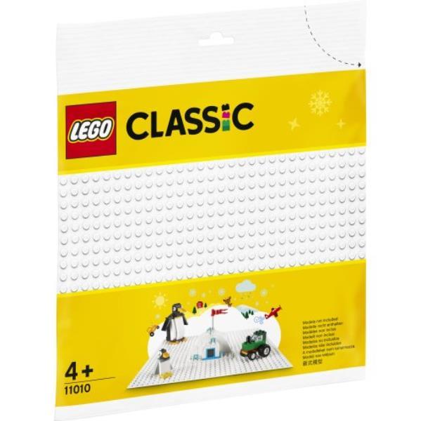 LEGO 11010 CLASSIC Biała płytka konstrukcyjna p12