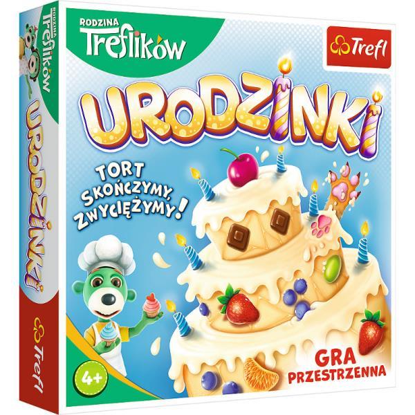 Urodzinki Rodzina Treflików gra 02065 Trefl