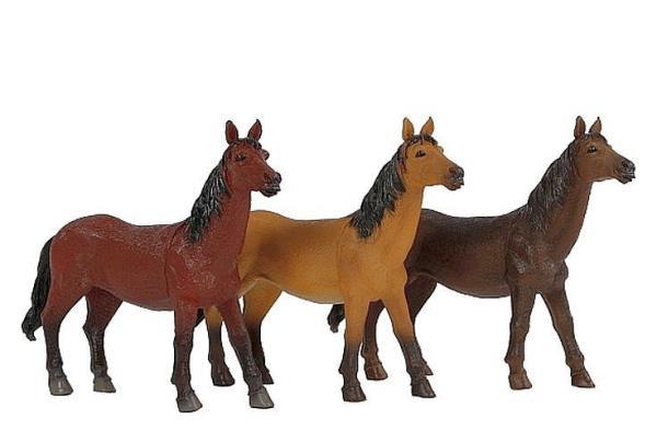 Konie 18-26cm 3 kolory