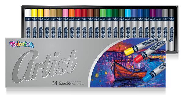 Pastele olejne ARTIST 24 kol. Colorino Kids