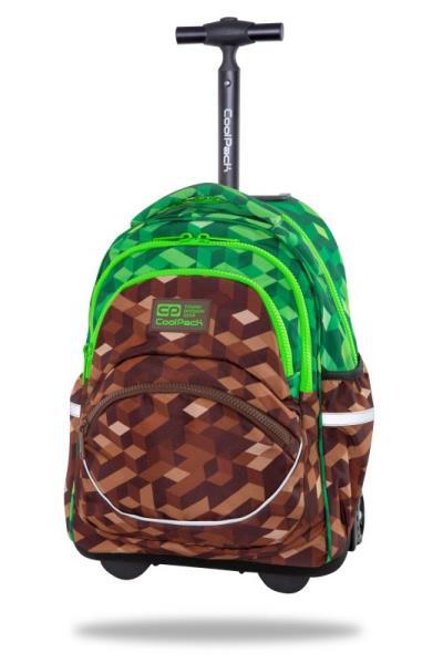Plecak młodzieżowy na kółkach - Starr City Jungle C35199 CoolPack