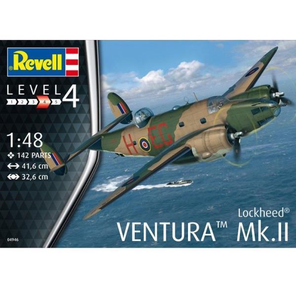 PROMO Revell 04946 Samolot Lockheed Ventura Mk.II 1:48