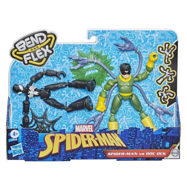Spiderman Figurki Bend and flex Spider-Man vs Doc Ock F0239 p6 HASBRO