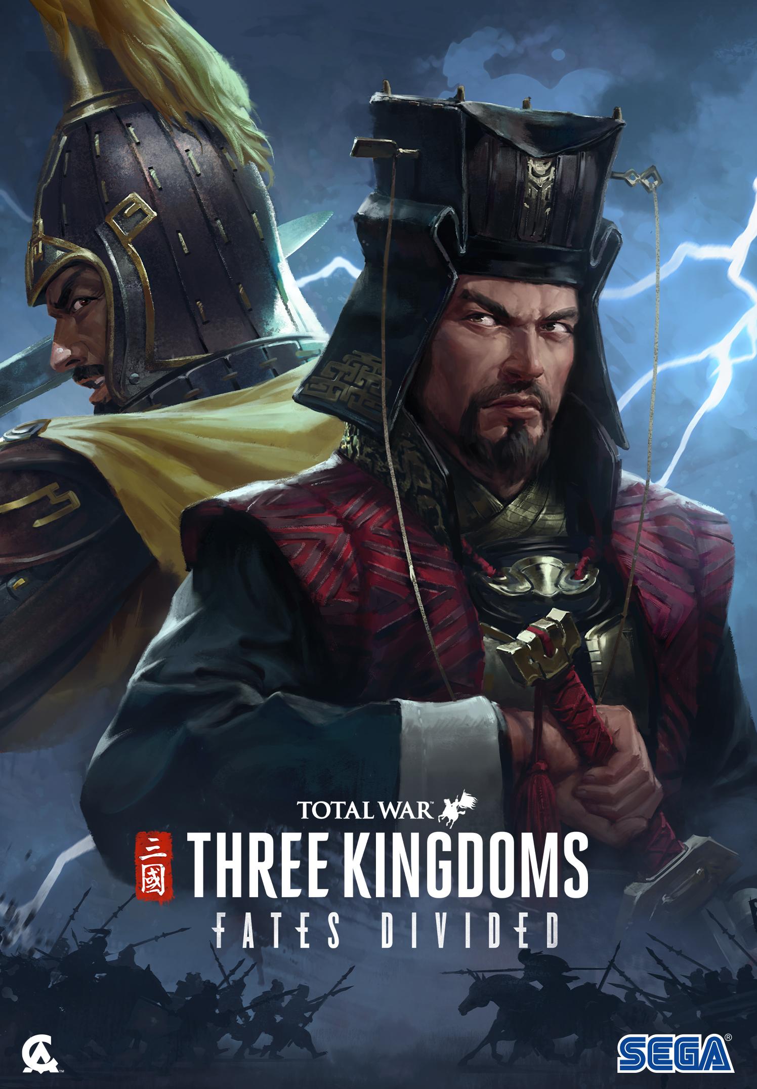 Total War: THREE KINGDOMS - Fates Divided (PC) Klíč Steam