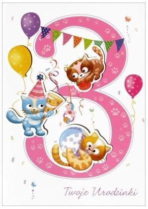 Karnet B6 Twoje urodziny HM-200-993