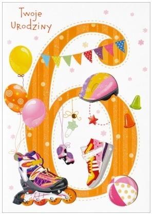 Karnet B6 Twoje urodziny HM-200-996