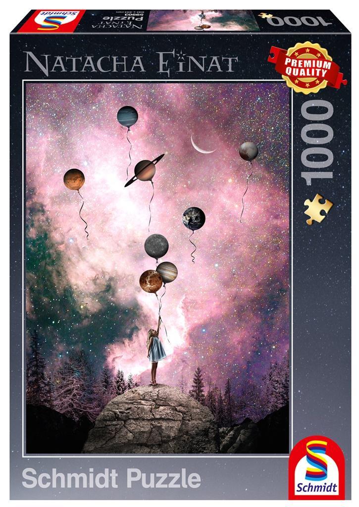 Puzzle PQ 1000 Natacha Einat Tęsknota za planetą
