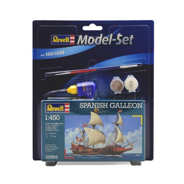 Model do sklejania 1:450 65899 SPANISH GALLEON Revell