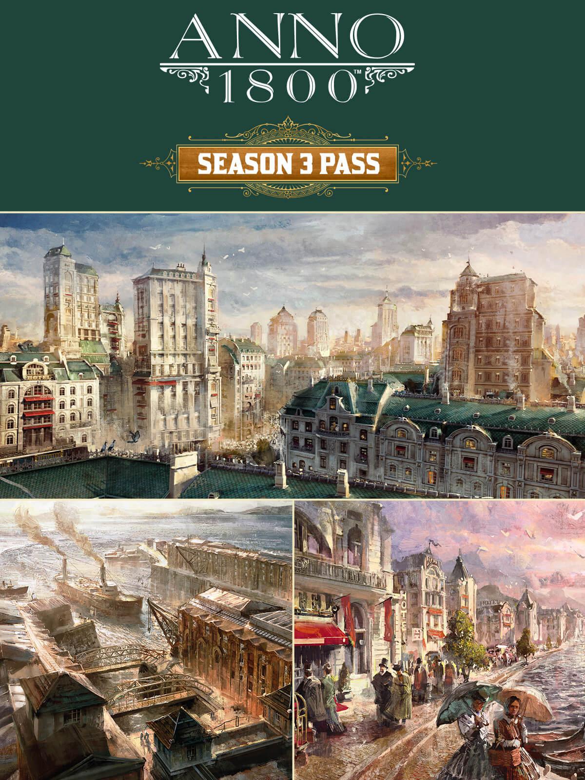 Anno 1800 - Season Pass 3 DLC (PC) Klucz Uplay