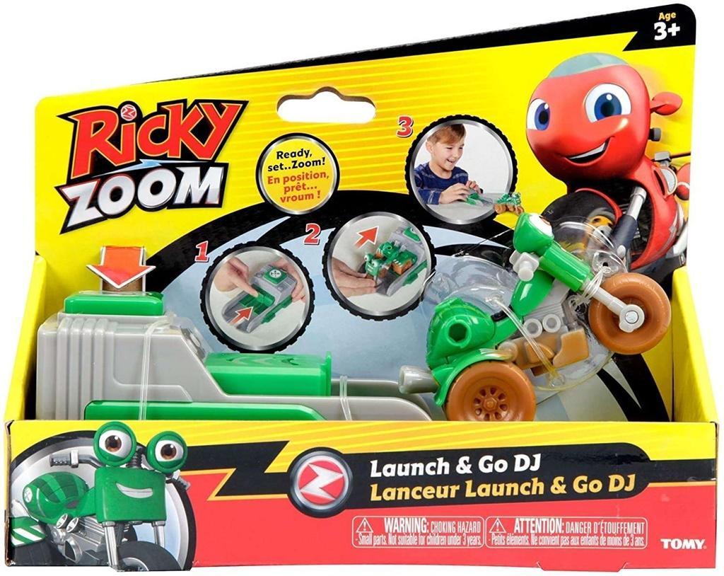 Ricky Zoom Wyrzutnia z motorem 3 TOMY