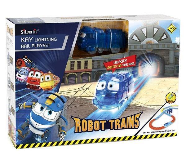 ROBOT TRAINS 80187 Świecący Kay zestaw Silverlit