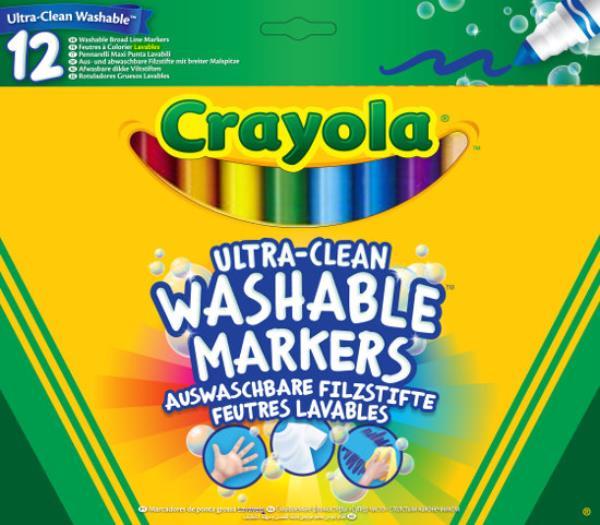 Flamastry super spieralne 12 kolorów 8329 Crayola