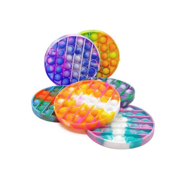PROMO Zabawka sensoryczna antystresowa gniotek POP IT Bubble multikolor 1005216 mix kolorów cena za 1 szt