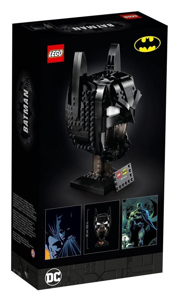 Lego SUPER HEROES 76182 Maska Batmana