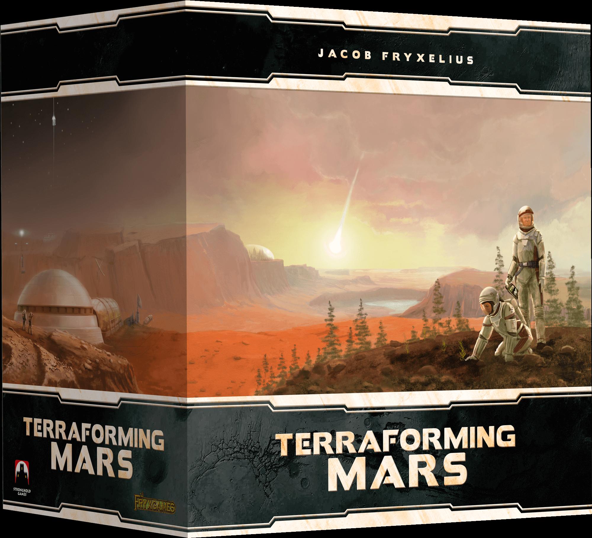 Terraformacja Marsa: Big Storage Box + elementy 3D (edycja polska) (gra planszowa)