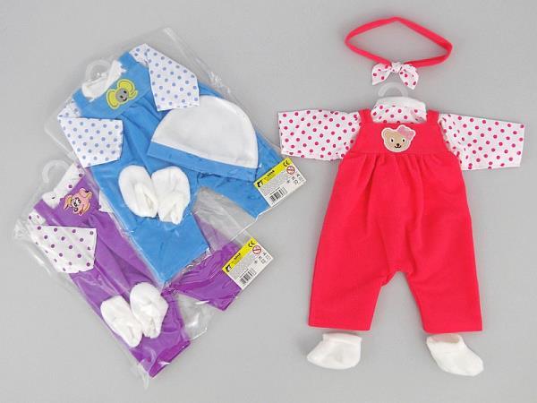 Ubranko dla lalki 3kol 464766