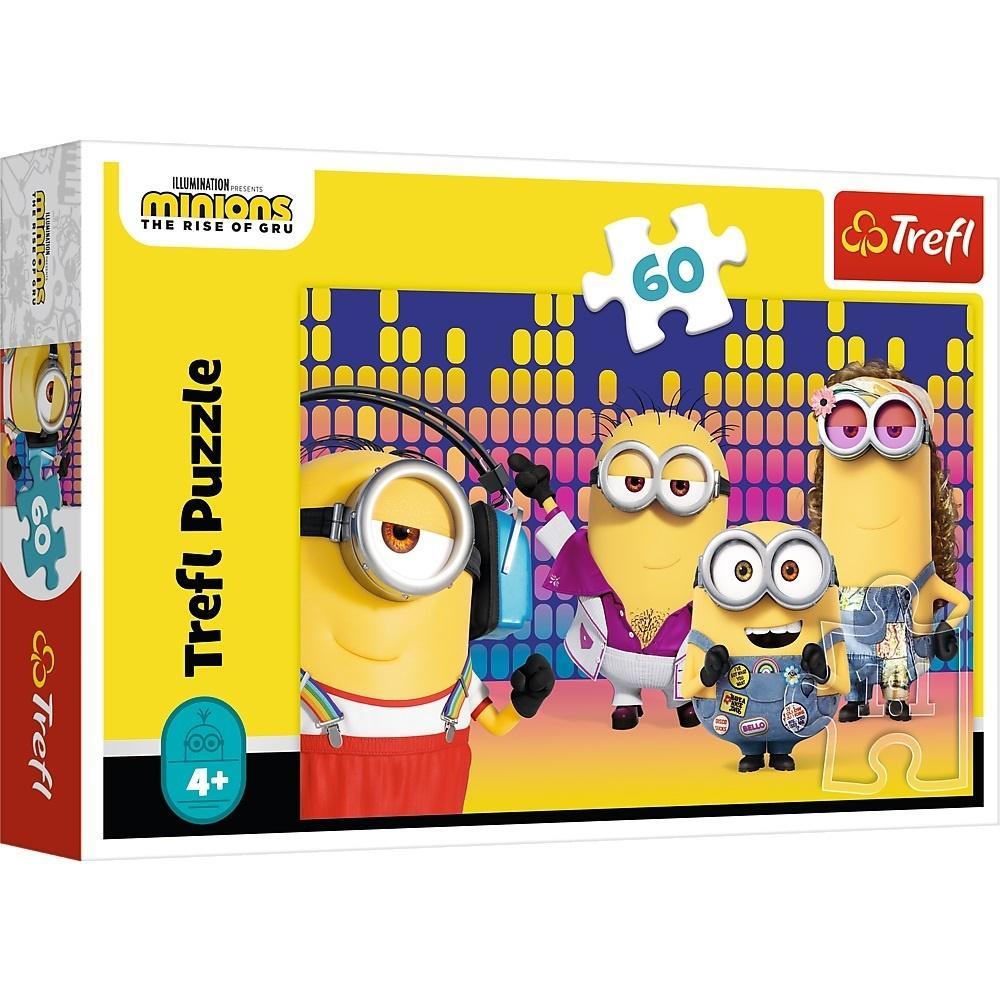 Puzzle 60 Minionki rozrabiają TREFL