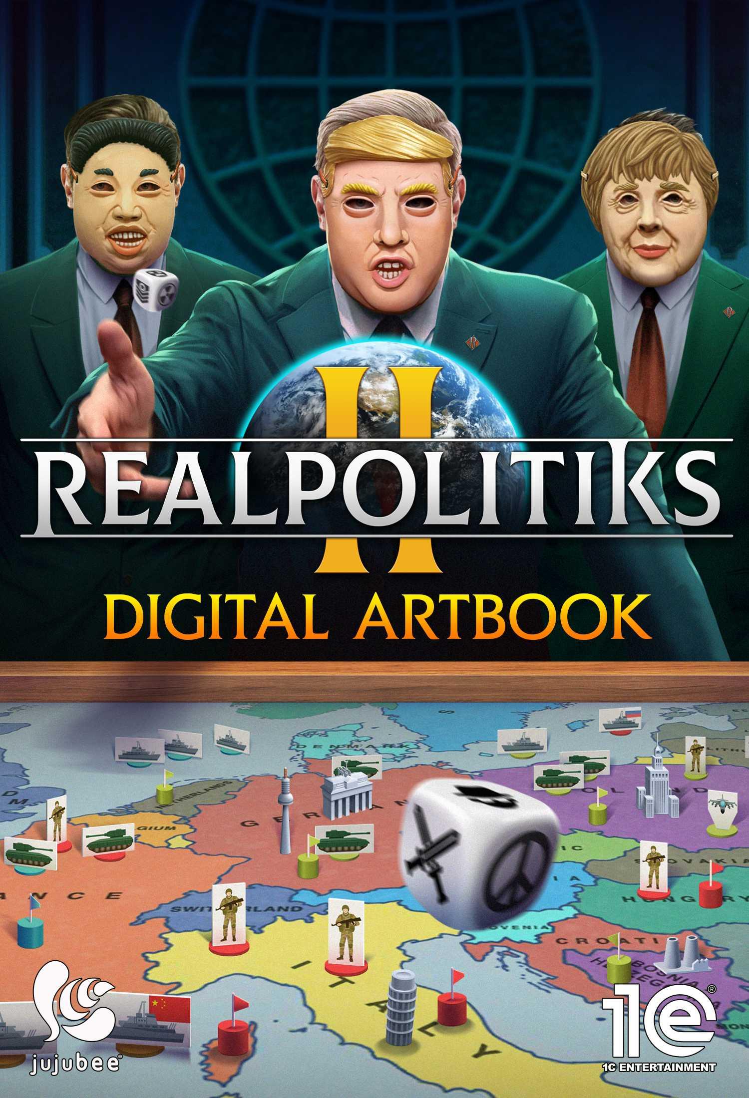 Realpolitiks II Digital Artbook (PC) PL klucz Steam