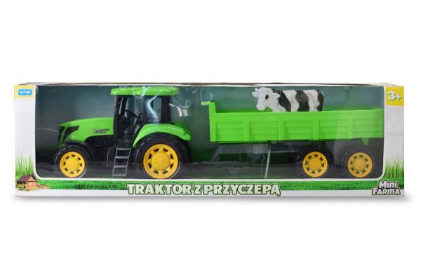 Traktor z przyczepą 159602