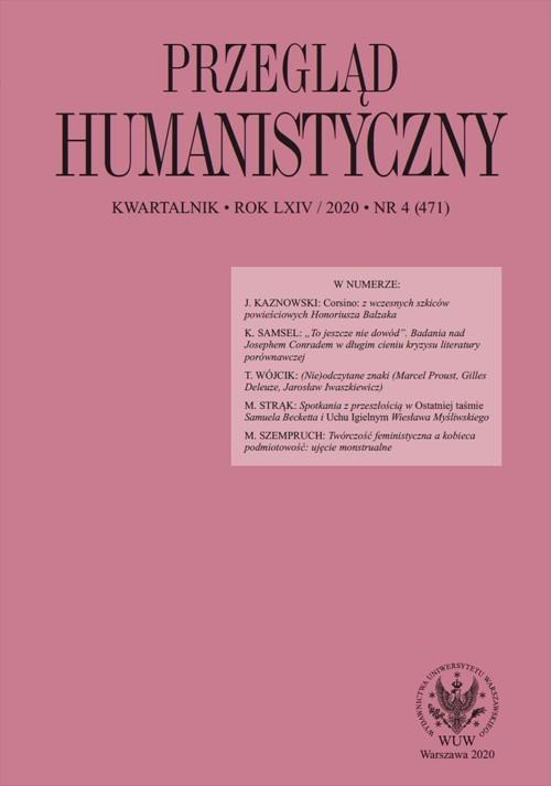 Przegląd Humanistyczny 4(471)/2020