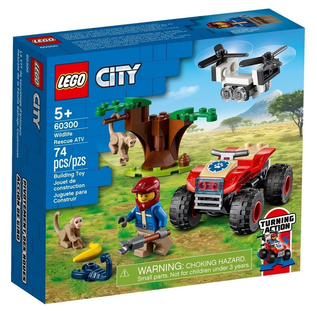 Lego CITY 60300 Quad ratowników dzikich zwierząt