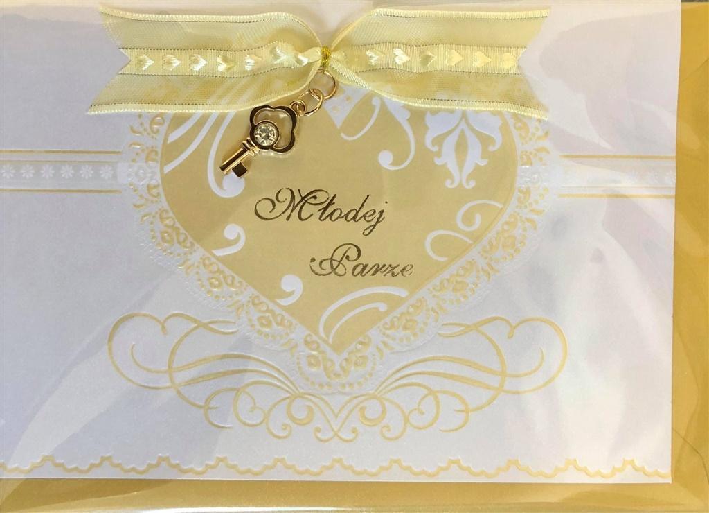 Karnet ślubny B6 Premium 43 + koperta