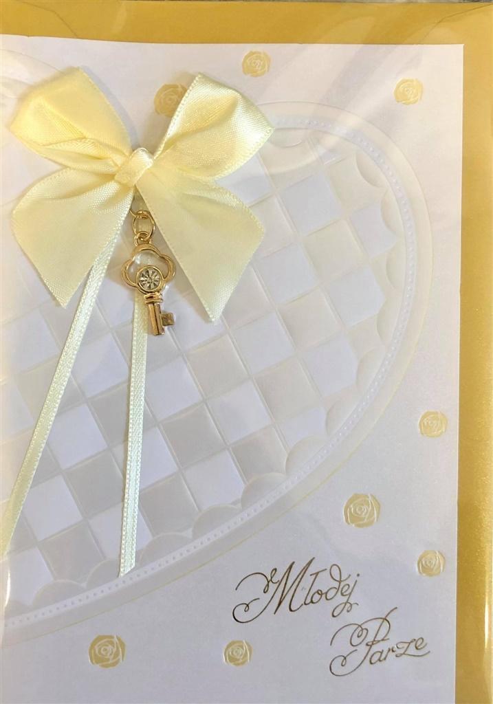 Karnet ślubny B6 Premium 44 + koperta