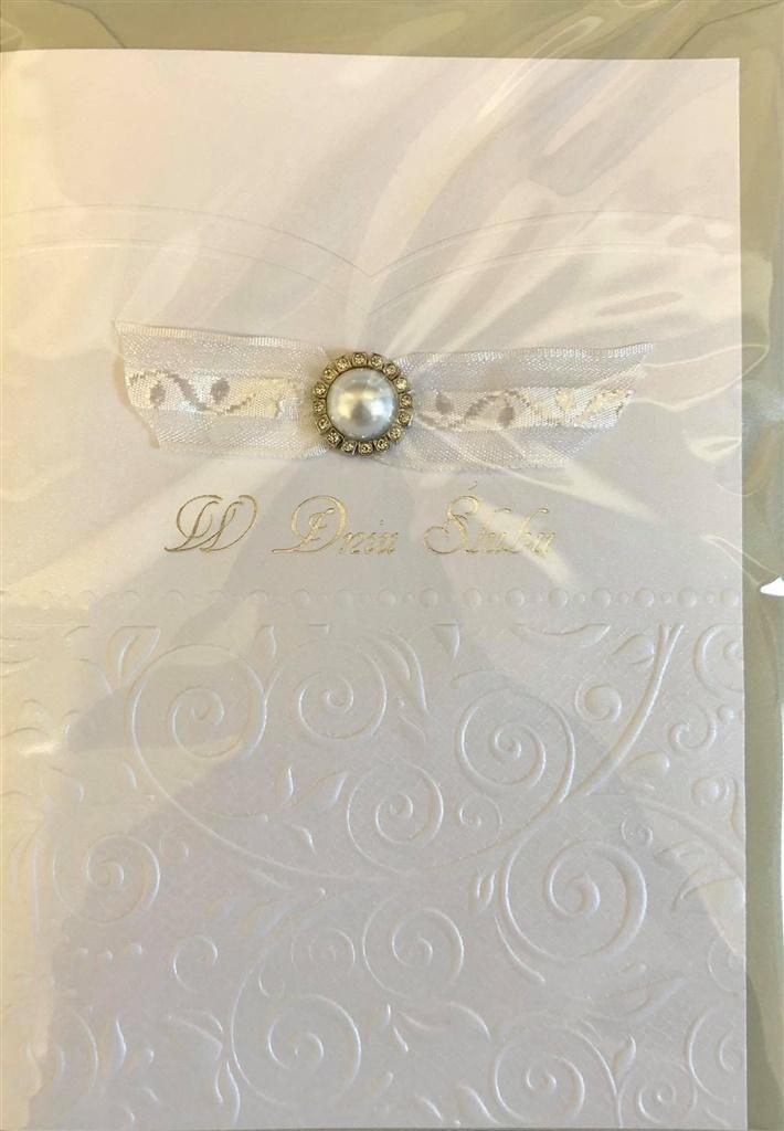 Karnet ślubny B6 Premium 47 + koperta