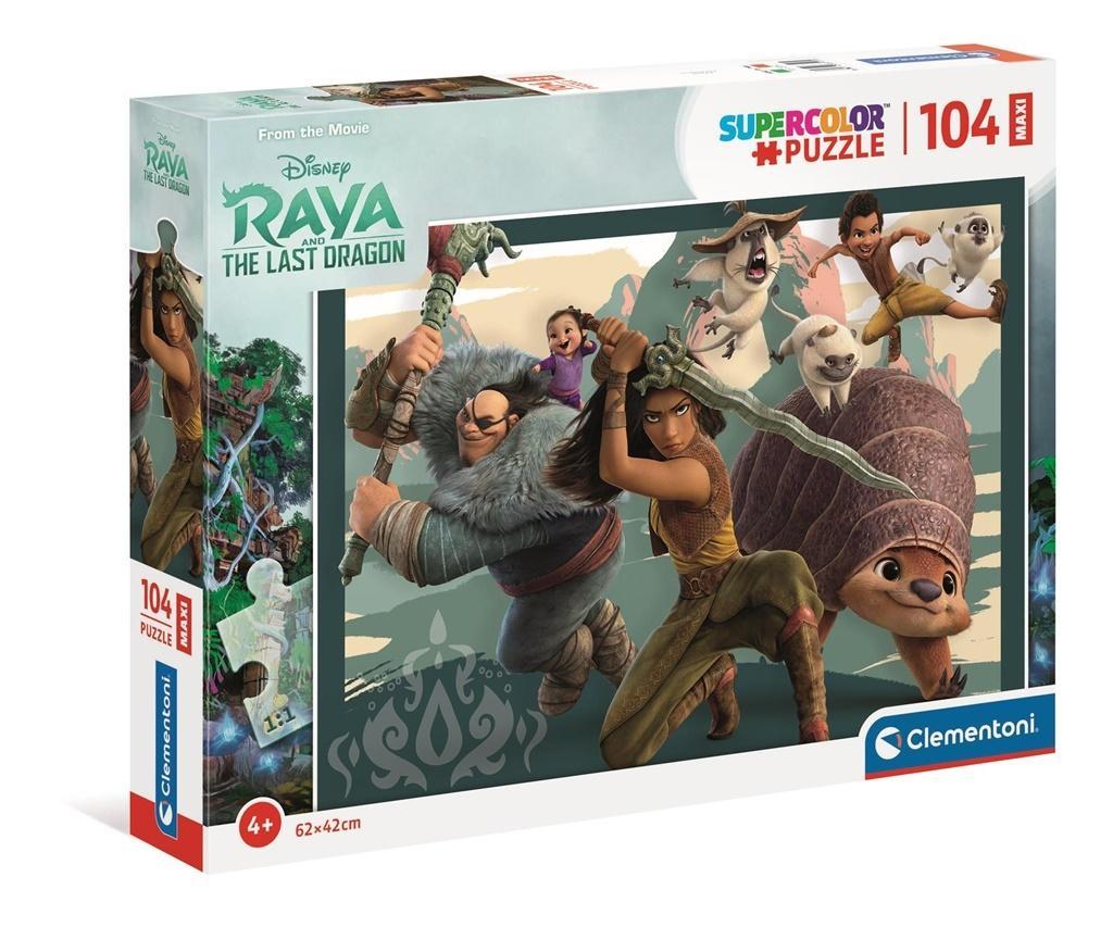 Puzzle 104 Maxi Super Kolor Raya & The Last Dragon