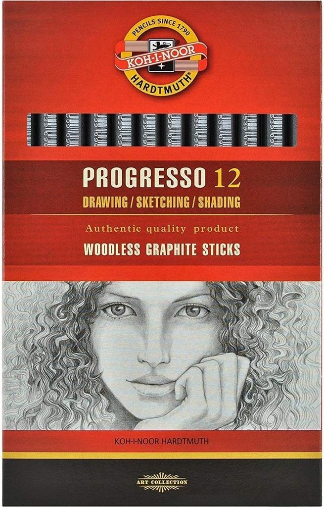 Ołówek grafitowy Progresso 8911/4B (12szt)