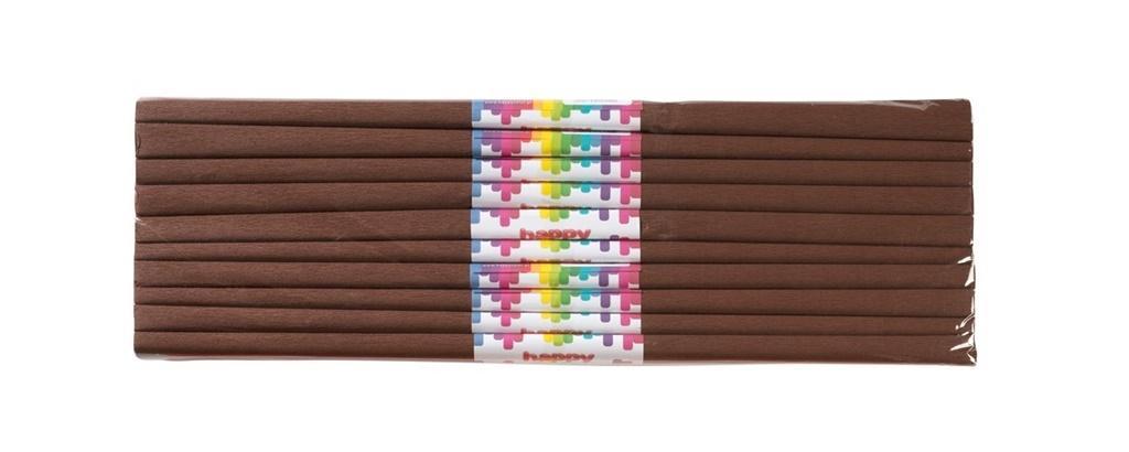 Bibuła marszczona 50x200cm czekoladowy (10szt)
