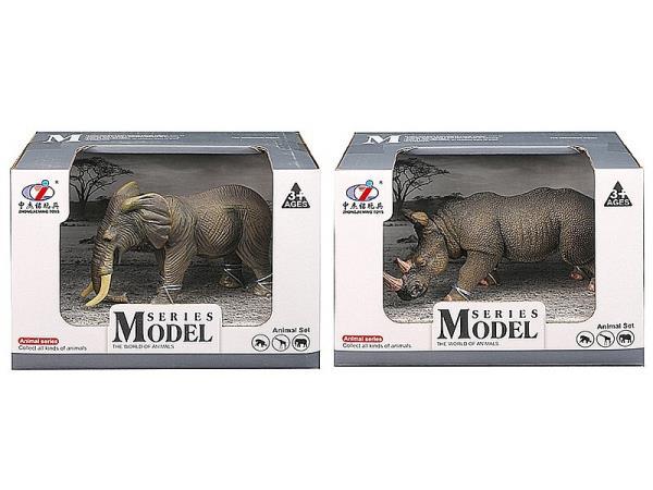 Zwierzęta dzikie w pudełku 514072 cena za 1 szt