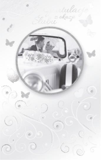 Kartka okolicznościowa Ślub SP09
