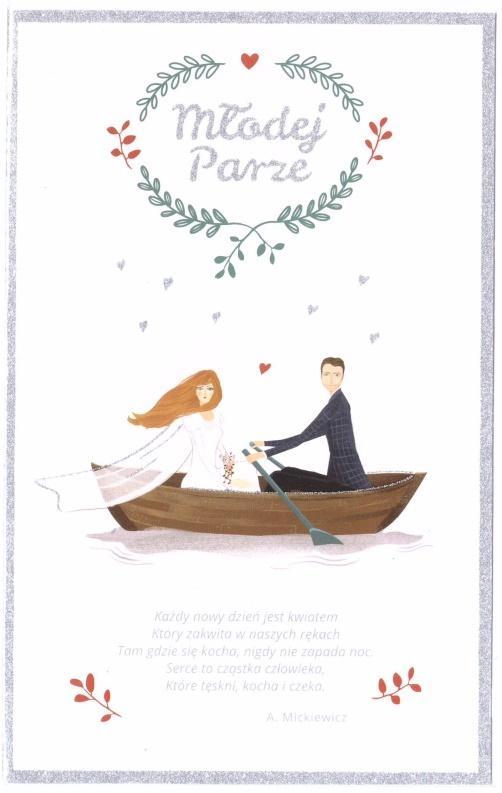 Kartka okolicznościowa Ślub S27