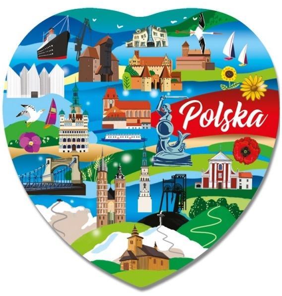 Magnes I love Poland Polska ILP-MAG-C-PL-47