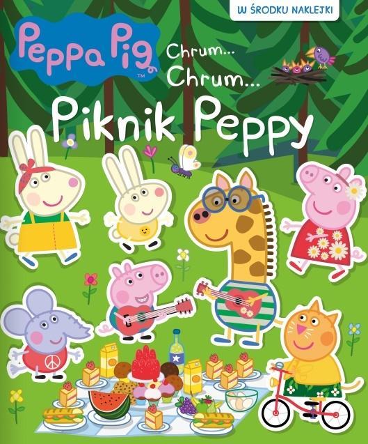 Świnka Peppa Chrum Chrum 70 Piknik Peppy