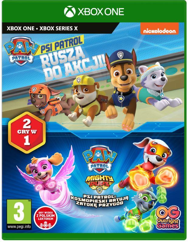 Psi Patrol 2 gry w 1 (Rusza do akcji & Kosmopieski ratują Zatokę Przygód) (Xone / XSX)