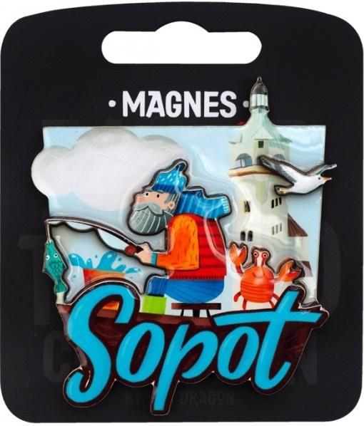 Magnes I love Poland Sopot ILP-MAG-C-SOP-20
