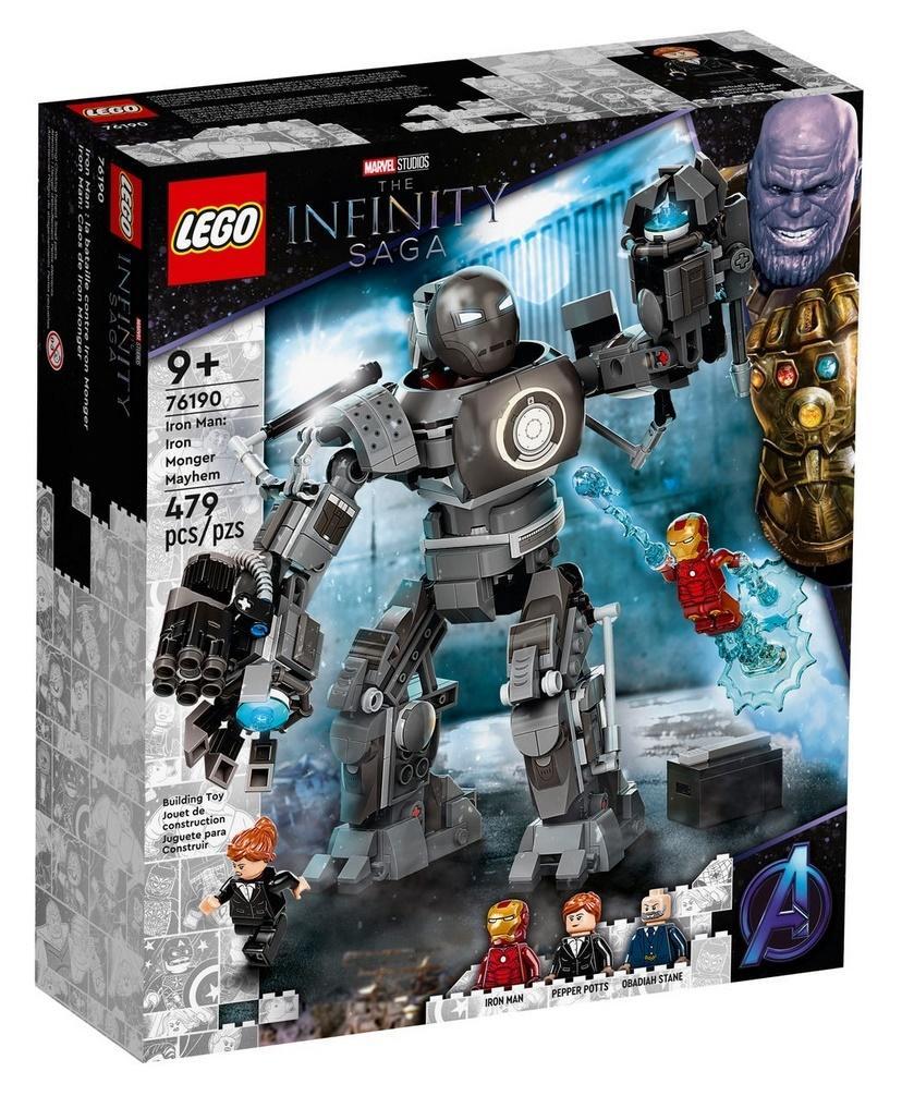 Lego SUPER HEROES Iron Man: zadyma z Iron Mongerem