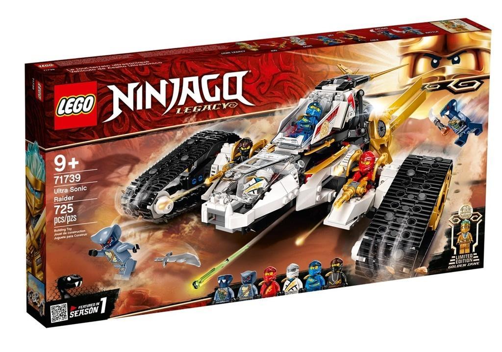 Lego NINJAGO 71739 Pojazd ultradźwiękowy