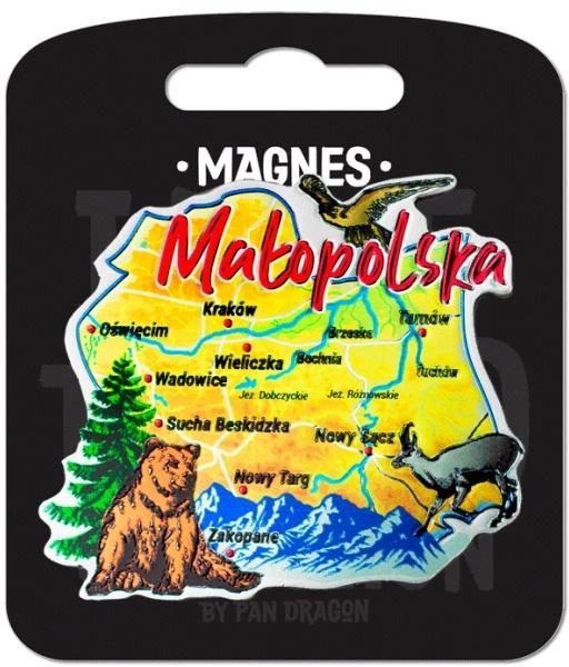 Magnes I love Poland Małopolska ILP-MAG-A-KRA-32