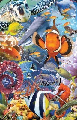 Mini kartka 3D Ocean