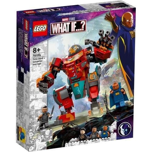 Lego SUPER HEROES 76194 Sakaariański Iron Man...