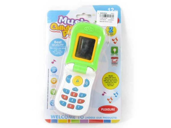 Telefon dla malucha światło, dźwięk