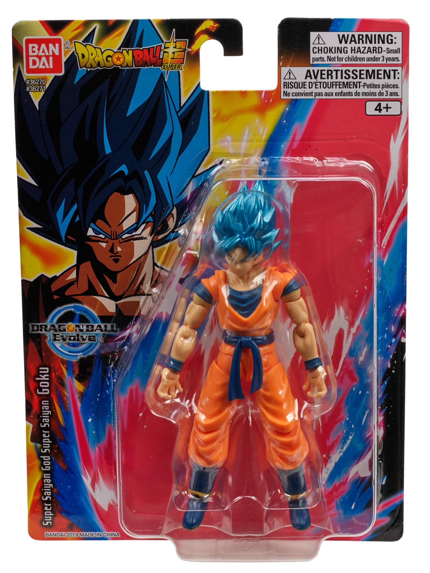 DRAGON BALL SUPER EVOLVE SUPER SAIYAN BLUE GOKU