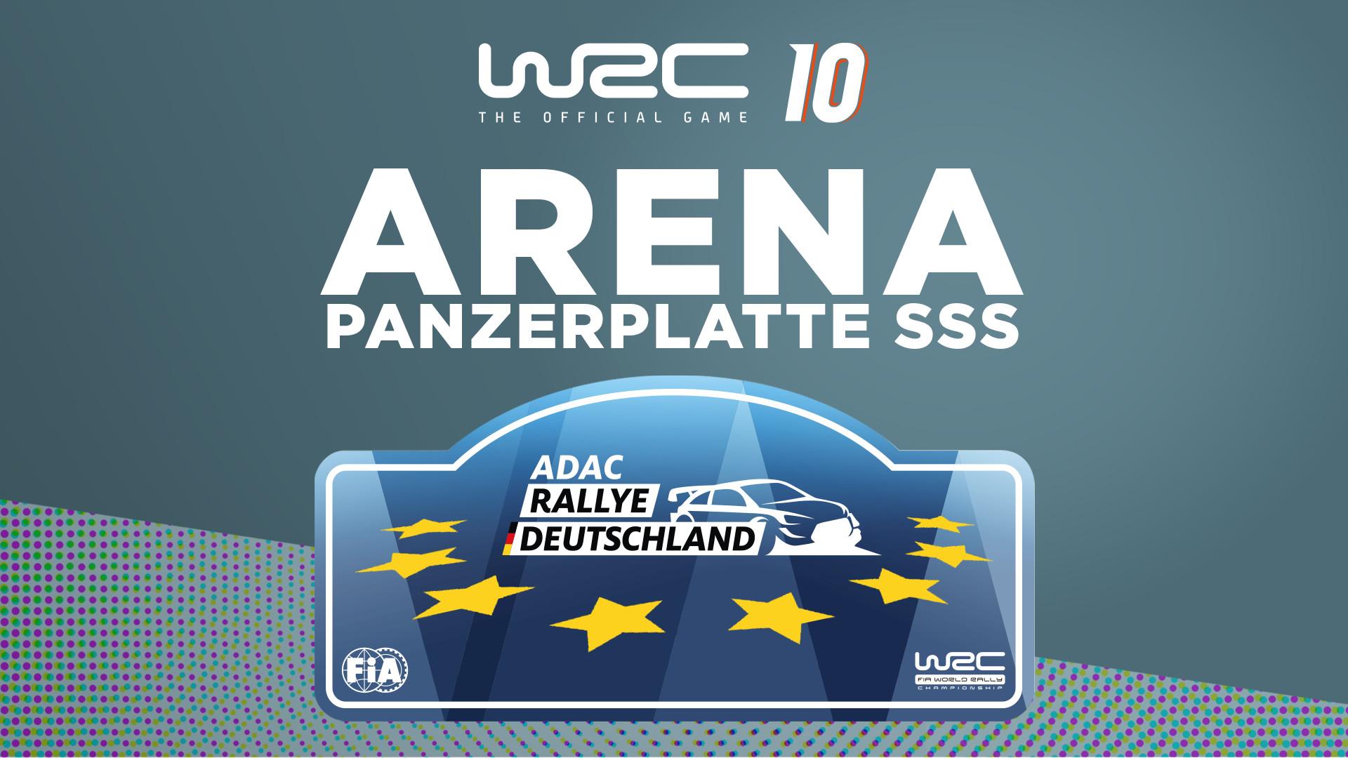 WRC 10 FIA World Rally Championship - Arena Panzerplatte (PC) Klucz Steam