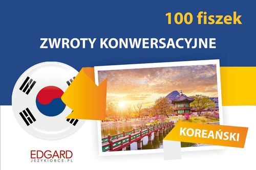 Koreański Zwroty konwersacyjne 100 fiszek