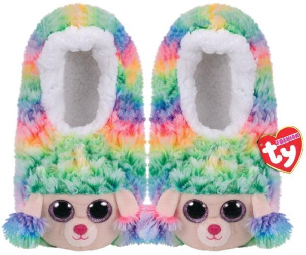 TY GEAR pantofle RAINBOW - kolorowy pudel roz. M (32-34) 95335 TY