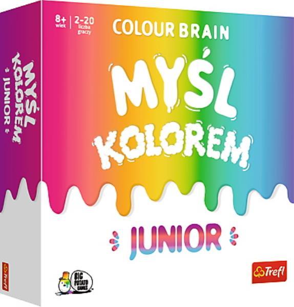 PROMO Myśl Kolorem! Colour Brain Junior gra 01763 Trefl p6