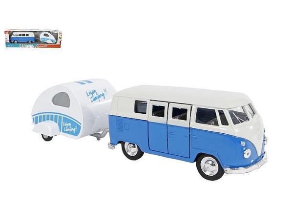 Auto VW bus T1 1963 z przyczepką 21cm 540371